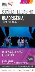 Quadrigenia (Espai A 2015, dansa)