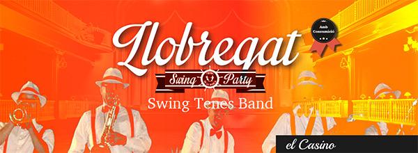 Llobregat Swing Party, concert a càrrec de la Swing Tenes Band i ball al Casino de Sant Andreu de la Barca. Nov. de 2016.