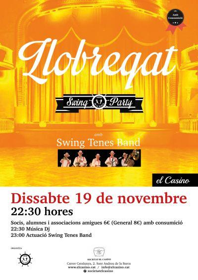 Llobregat Swing Party al Casino de Sant Andreu de la Barca (nov. 2016)
