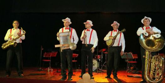 La Swing Tenes Band a la Llobregat Swing Party (nov. 2016)